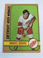 1971 - 1972 O-PEE-CHEE Marcel Dionne Detroit Red Wings #133 Hockey Card