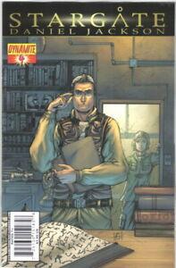 Stargate Daniel Jackson Comic Book #4 Dynamite 2010 NEAR MINT NEW UNREAD