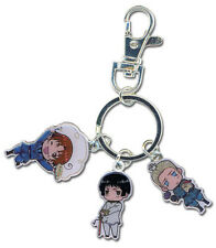Hetalia Axis Powers Metal Charm Key Chain Anime Manga MINT