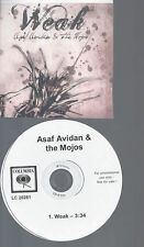 CD--PROMO--ASAF AVIDAN & THE MOJOS--WEAK