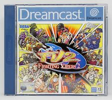 FIGHTING VIPERS 2 FV2 - SEGA DREAMCAST DC DREAM CAST - PAL ESPAÑA