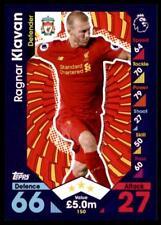 Match Attax 2016-2017 Ragnar Klavan Liverpool Base card No. 150
