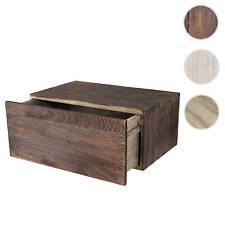 Serie Vintage mensola ripiano con cassetto HWC-C55 legno paulonia