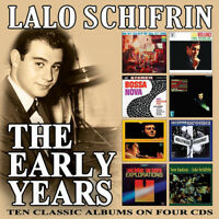 Lalo Schifrin : The Early Years CD Box Set 4 discs (2018) ***NEW*** Great Value