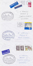 GERMAN CRUISE SHIP MS ASTORIA 3 SHIPS CACHED COVERS