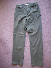 Christopher & Banks Women's Denim Colored Jeans size 4 light brown inseam 32