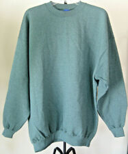 NWOT Men's CHAMPION Sweatshirt Big & Tall Size 2XL Solid Green Cotton Poly Blend