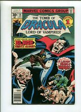 TOMB OF DRACULA #58 (7.0) BLADE FIGHTS ALONE!! 1977