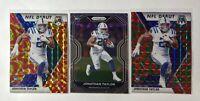 2020 Panini Mosaic & Prizm Jonathan Taylor (3) Card Lot - NFL Debut & Base Prizm