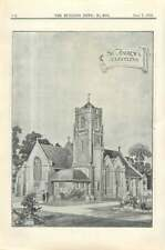 1912 St Andrews Church Cleveleys, Design