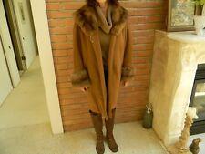 Vicuna Coat w/Russian Sable Collar & Cuffs