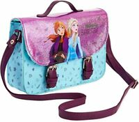 Disney Frozen HandBag with Anna and Elsa, Glitter Cross Body Bag For Girls Teens