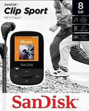 SanDisk Sansa Clip Sport Black 8GB MP3 Player FM Radio
