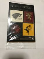 Game Of Thrones House Sigil Magnet Set Loot Crate Exclusive HBO