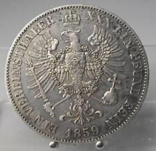 1 Thaler 1859 A, Preussen, Friedrich Wilhelm IV., Silber .900