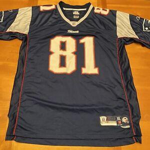 New England Patriots Randy Moss Super Bowl On-field Reebok Size XL + 2 Jersey
