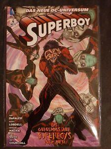 Superboy - Band 4 - Das Geheimnis über Superboys Herkunft - Sehr guter Zustand