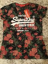 SUPERDRY, New with tags Ladies/Girls Floral T-shirt , size uk 8/10