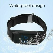 Bluetooth Smart Bracelet Sports Pedometer Tracking Calorie Sleep Monitor Wy