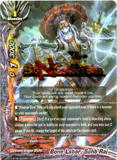 Buddyfight 1x X-BT02/0035EN - R - Bone Labor, Sahb Raj