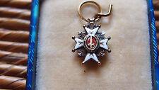 une rareté  médaille décoration  INSTITUTION DU MÉRITE MILITAIRE MOD 1759 en OR