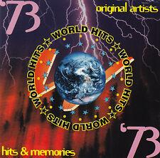 HITS & MEMORIES - 1973 / VAR ART - david bowie,mungo jerry,barry white,nazareth
