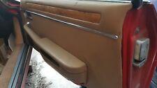85 Jaguar XJS Right Door Trim Panel beige RIGHT PASSENGER FLAWS see pics