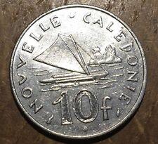 PIECE DE 10 FRANCS NOUVELLE CALEDONNIE 1983 (159)