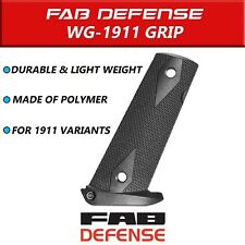 FAB Defense Durable and Light weighted Magazine Well Grip for 1911 Variants