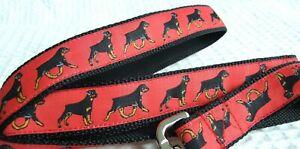 ROTTWEILER BREED SPECIFIC DESIGNER DOG MARTINGALE or COLLAR or LEAD or BELT