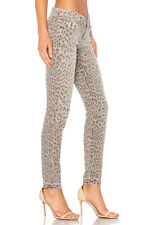 NWT Current/Elliott Stiletto in Grey Leopard Released Hem Stretch Skinny Jean 26