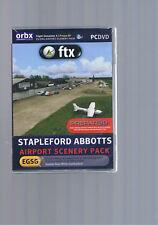 Flight Simulator X / Orbx-ftx / Stapleford Abbotts / Airport Scenery Pack / OVP