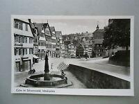 Ansichtskarte Calw Schwarzwald Marktplatz 1957