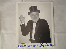Dr Demento **Autographed Photo** Radio Show Fan Club Signed To Edward/Ed Top Hat