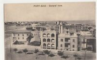 Egypt, Port Said, General View Postcard, B201