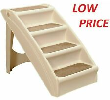 Large Pet Dog Folding Stairs Tall High Bed Car Ladder Ramp Steps Portable