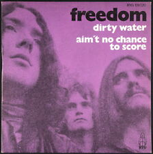 FREEDOM - Dirty Water - 1970 France SP 45 tours