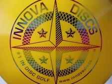 Innova Star Aviar3 Protostar First Run Yellow w/ Rainbow Stamp 175g -New