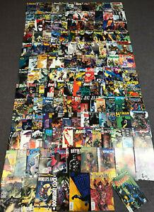 Lot (150) BATMAN + RELATED DC COMICS DETECTIVE HARLEY QUINN BATGIRL + 1 Signed