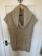 Mint Velvet Size 10 Alpaca Wool Mohair Wool Waistcoat Gillett Jumper Sleeveless