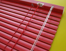 Alu Jalousie Türrollo Fensterjalousie Tür Lamelle Rollo Jalousette Rot 70 x 220