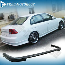 FOR 01-03 HONDA CIVIC 4DR SEDAN REAR BUMPER LIP SPOILER BODYKIT TYPE-R