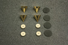 Component Isolation Spikes / Cones / Feet Set of 4 Amp Turntable Tape Deck