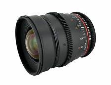 Rokinon 24mm T1.5 Cine Wide Angle Lens  w/ De-clicked Aperture For Sony E-Mount