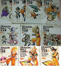 DRAGON BALL Complete Art Book #1~7+3 Set Book JAPAN