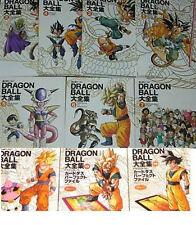 DRAGON BALL Complete Art Book #1~7+3 Set Book JAPAN