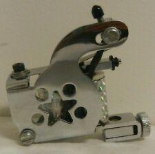 old school chromed steel star tattoo machine