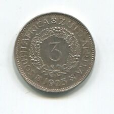 SOUTH AFRICA 3 PENCE 1923 SILVER PROOF
