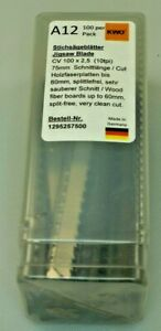 German High Quality Jigsaw Blades Compatible with Bosch T101BR Pack of 100