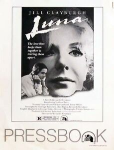 LUNA great movie PRESSBOOK 1979
